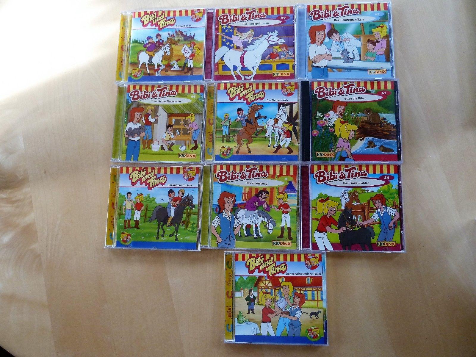 Bibi und Tina Sammlung10 CD's