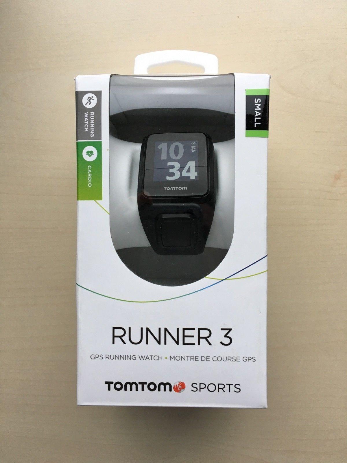 TomTom Runner 3 Cardio GPS - gebraucht in original Verpackung mit Rechnungsbeleg