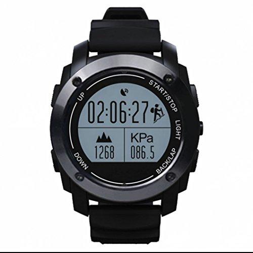 Smartwatch Armbanduhr Barometer SmartWatch höhenmesser Thermometer Handyuhr Sedentary Remindser herzfrequenz SmartWatchs