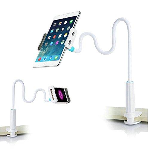 Schwanenhals Handy Halterung iPad Schwanenhals Halterung Halter Einstellbare Halter Tablets Telefon Halterung 360 °Drehen für 3.5-10.5 Zoll Mobiltelefonen und Tablets