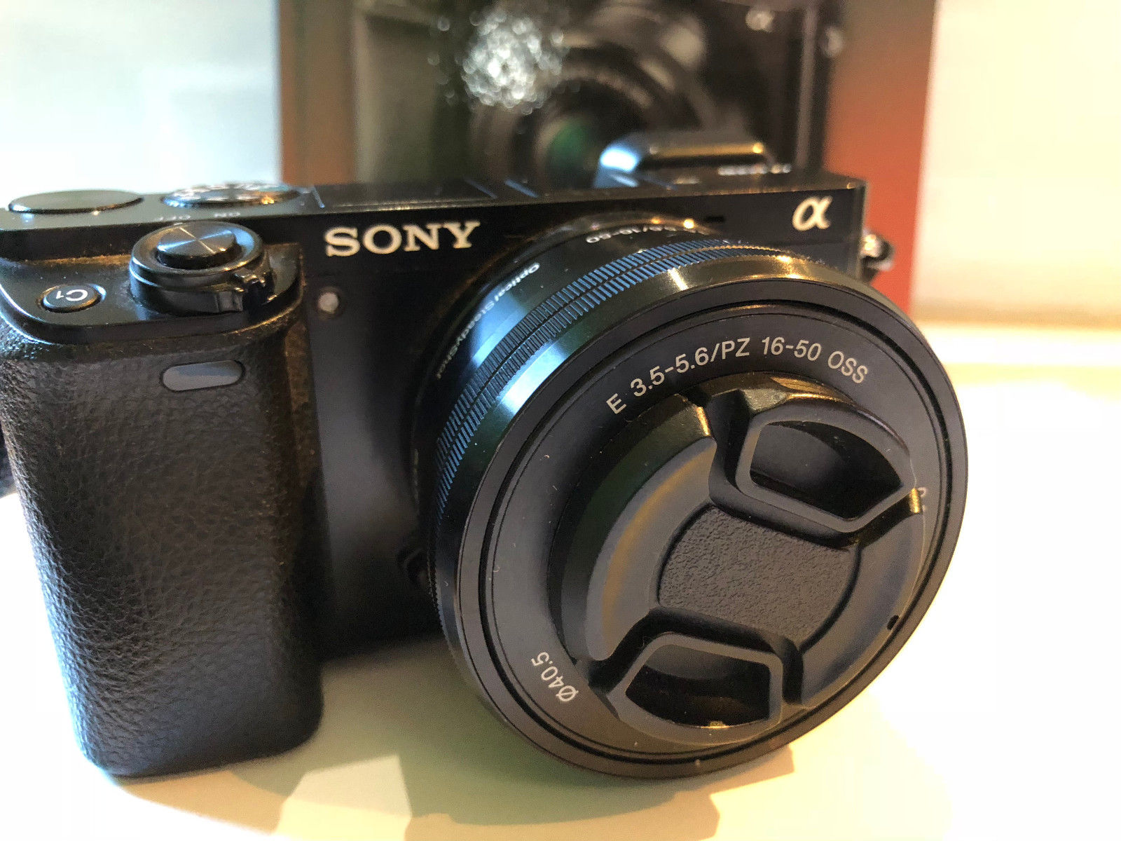 Sony Alpha A6000 24 3 MP Schwarz Kit Objektiv PZ 16 50mm Zubehörpaket