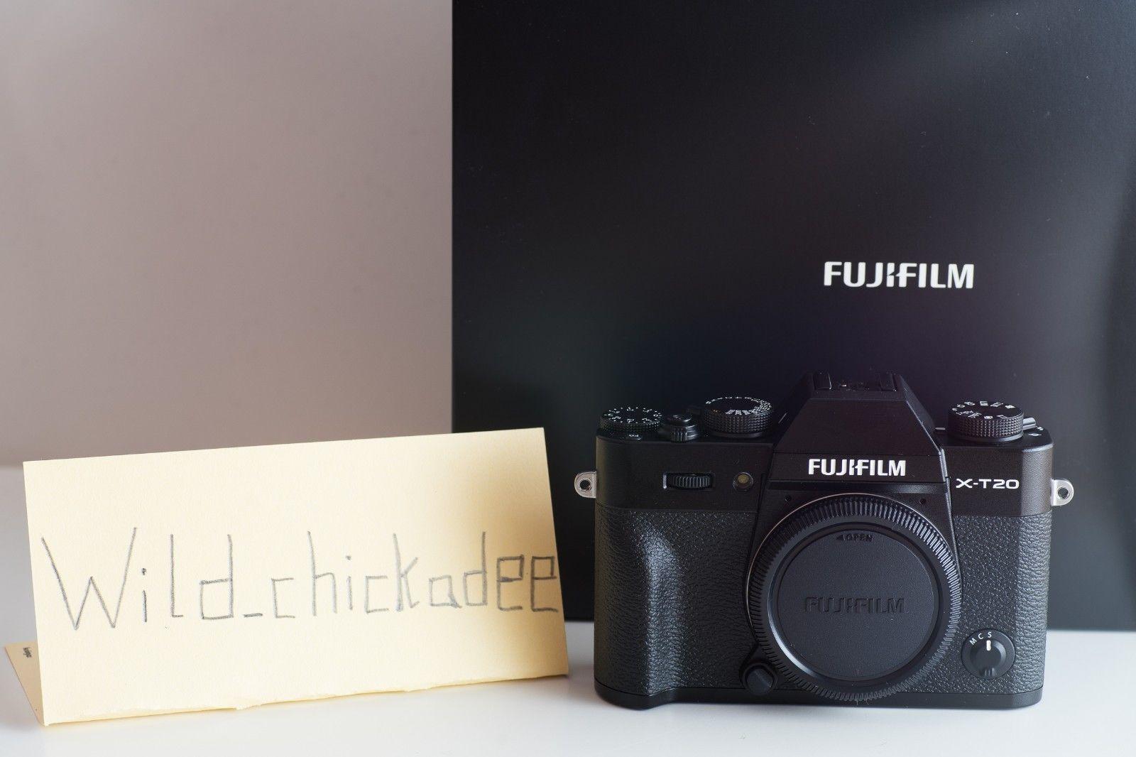 Fujifilm X series X-T20 Digitalkamera - Schwarz, NEU und OVP