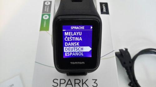 Tomtom spark 3 cardio ( Runner 3 ) Large OVP und Rechnung 28.08.2017