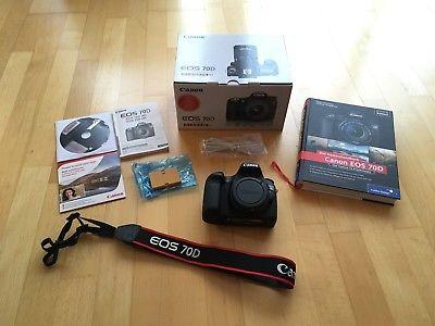 Canon EOS 70D Digitalcamera nur Body / Gehäuse  - TOP !!