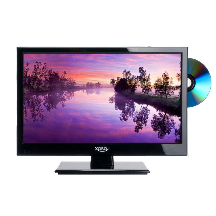 Camping TV 15,6 zoll 40 cm DVB-T2 Xoro 1546 HD LEDTV /DVD /Sat Receiver DVB-C