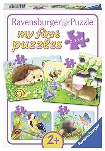 Ravensburger 06952 - Süße Gartenbewohner Puzzle