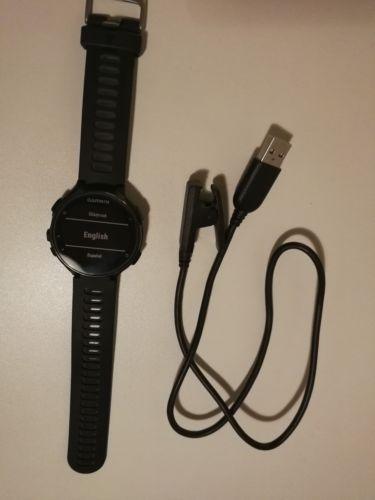 Garmin Forerunner 735XT, schwarz /grau - High-End GPS-Running & Triathlonuhr