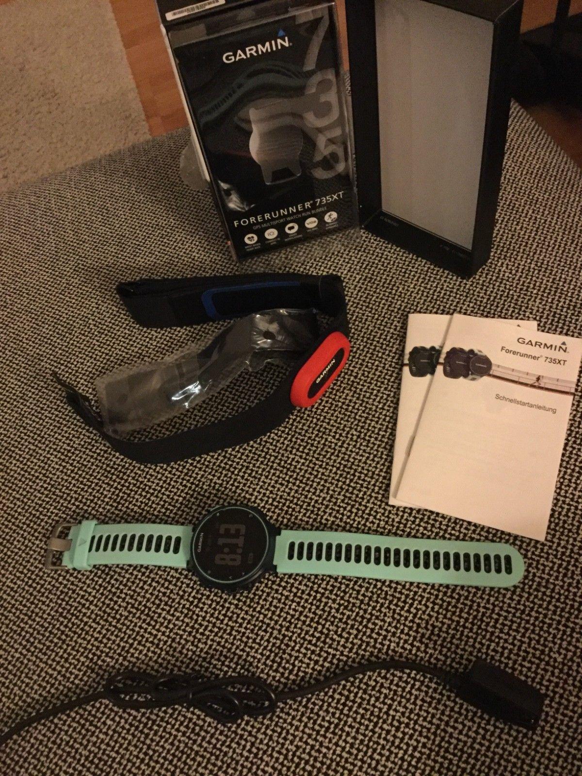 Garmin Forerunner 735xt Frost Blau Multisport Herzfrequenzmessung GPS NEU OVP
