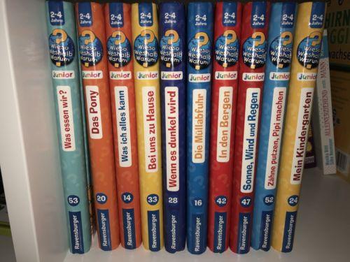 Wieso Weshalb Warum Junior 12 Bücher