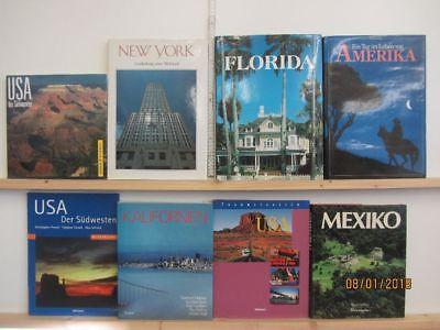 18 Bücher Bildbände Amerika amerikanische Länder amerikanische Städte