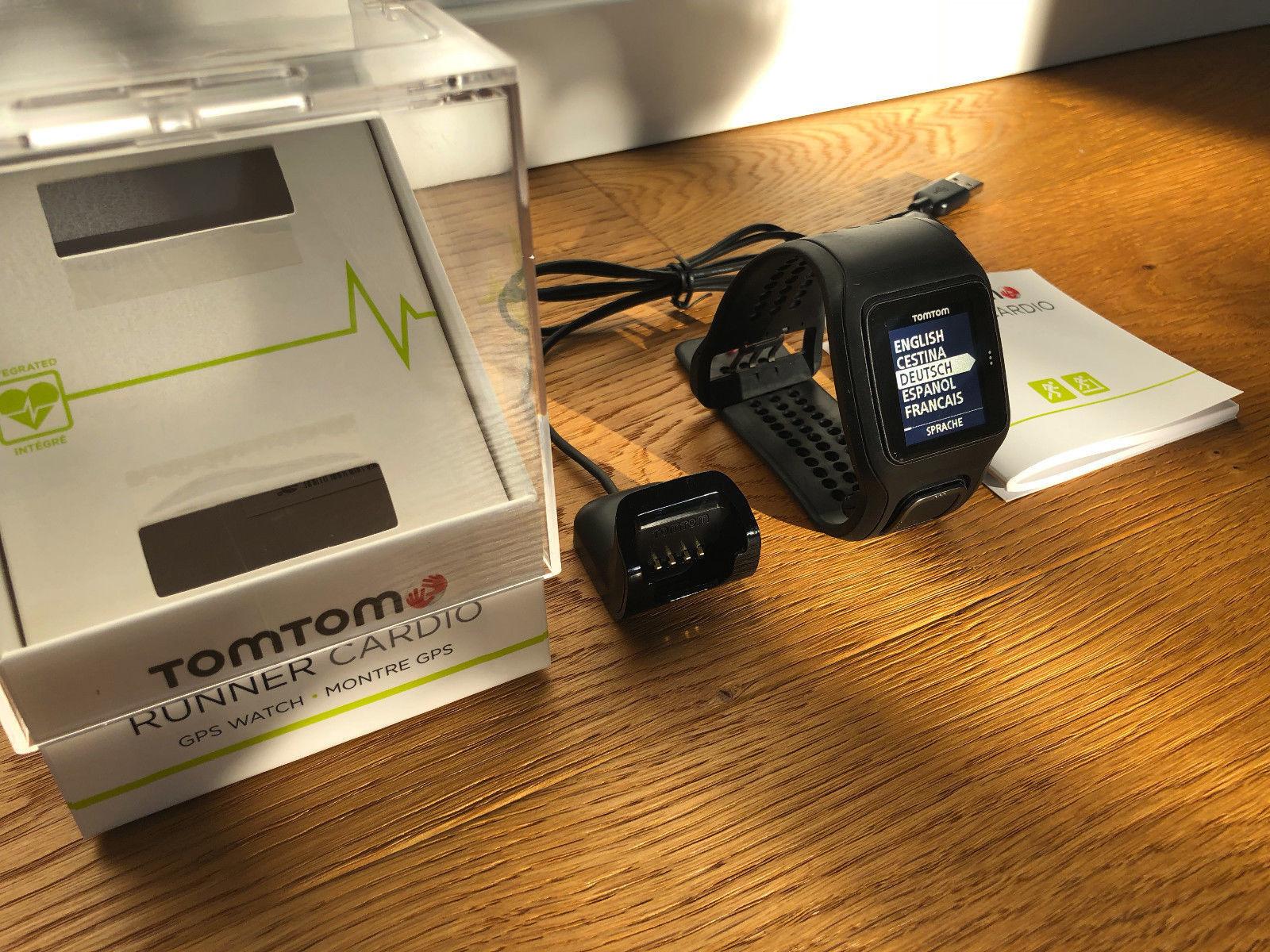 TomTom GPS Sportuhr Runner Cardio