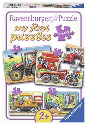 Ravensburger 06954 - Bei der Arbeit Puzzle