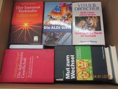 44 Bücher Sachbücher Wissenschaft Wirtschaft Politik Zeitgeschichte