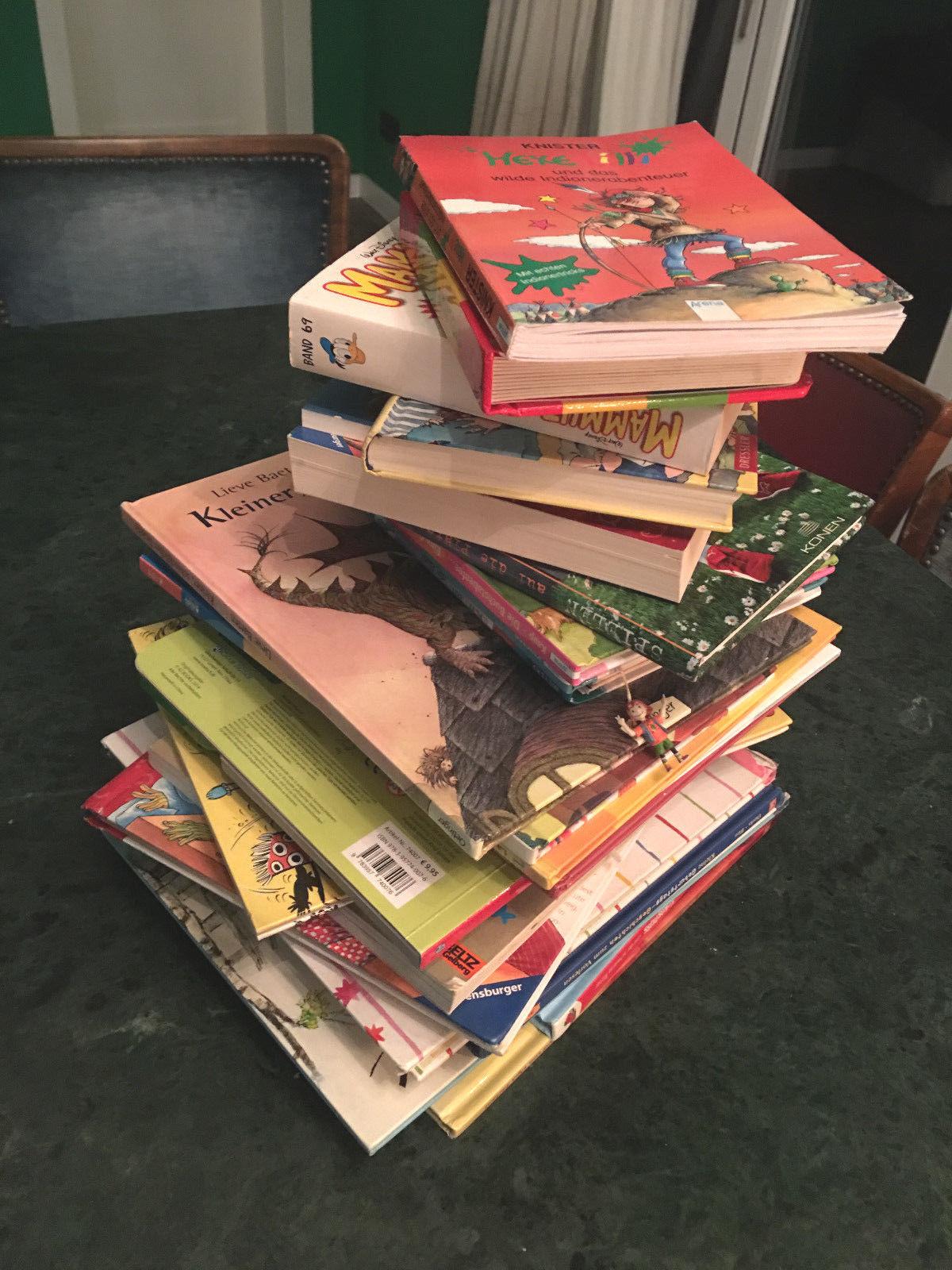 Paket 27 Kinderbücher Jungen 4-7 Jahre