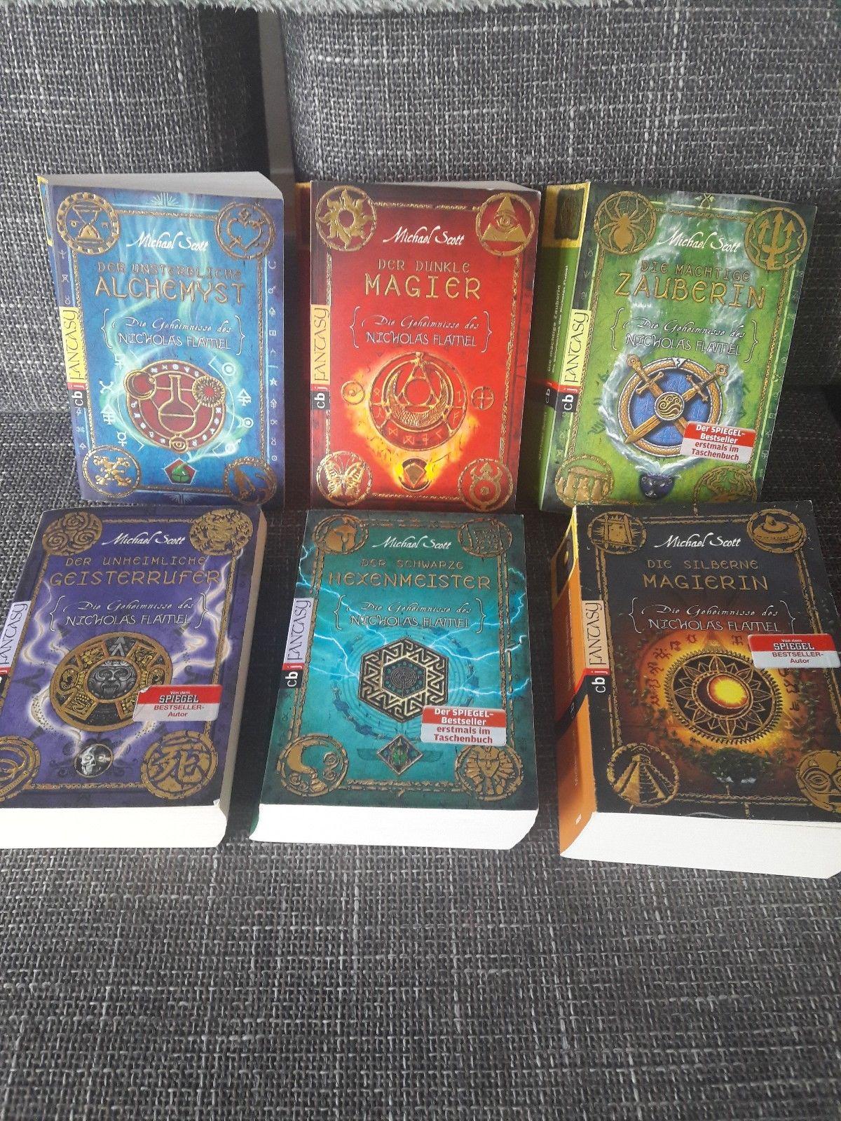 Fantasy Bücher gebunden 6 Stk. wie neu