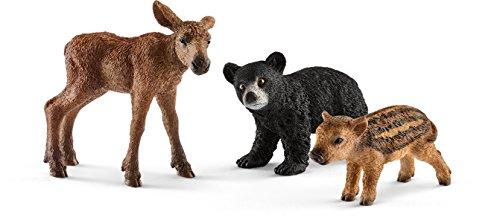 Schleich 41457 - Waldtierbabies Figur