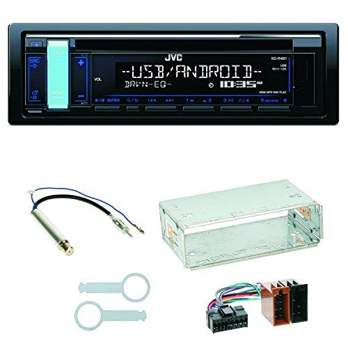 Komplett-Set Skoda Octavia 1U Superb 1 JVC KD-R481 USB FLAC Autoradio MP3 CD AUX