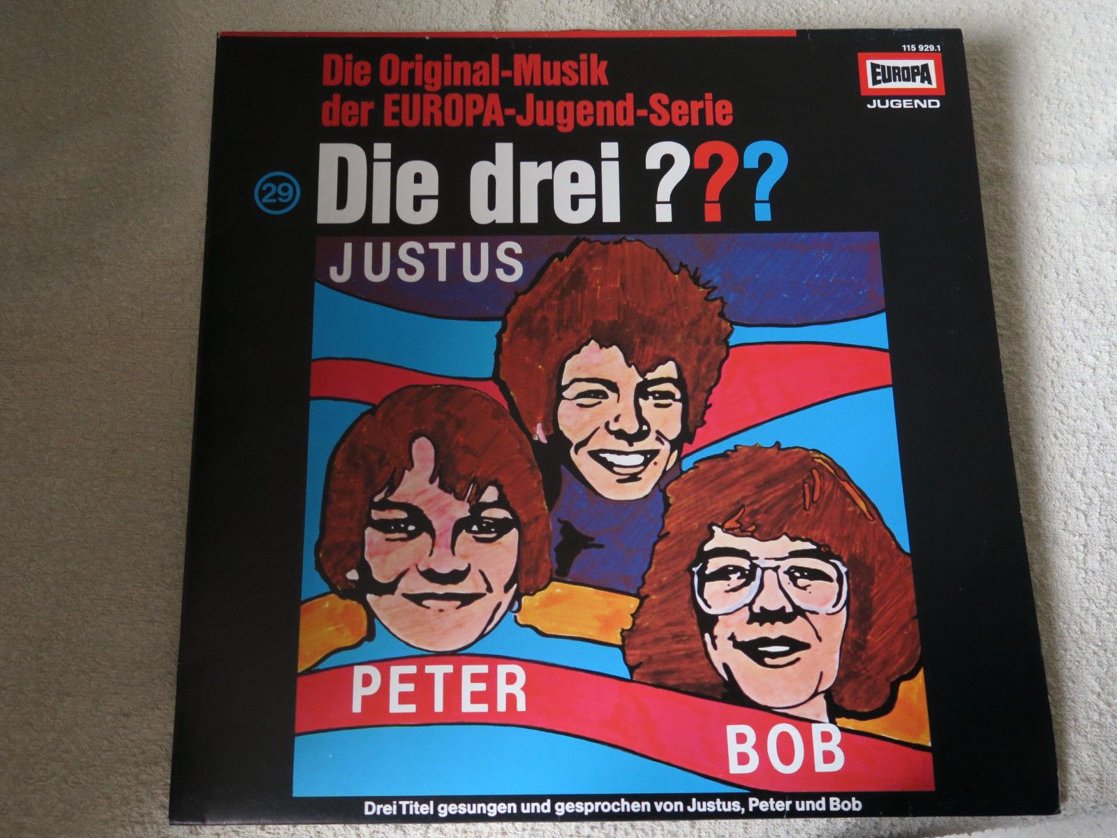 Die drei Fragezeichen ??? Folge 29  Die Original-Musik   Zust.wie Neu ! Vinyl LP