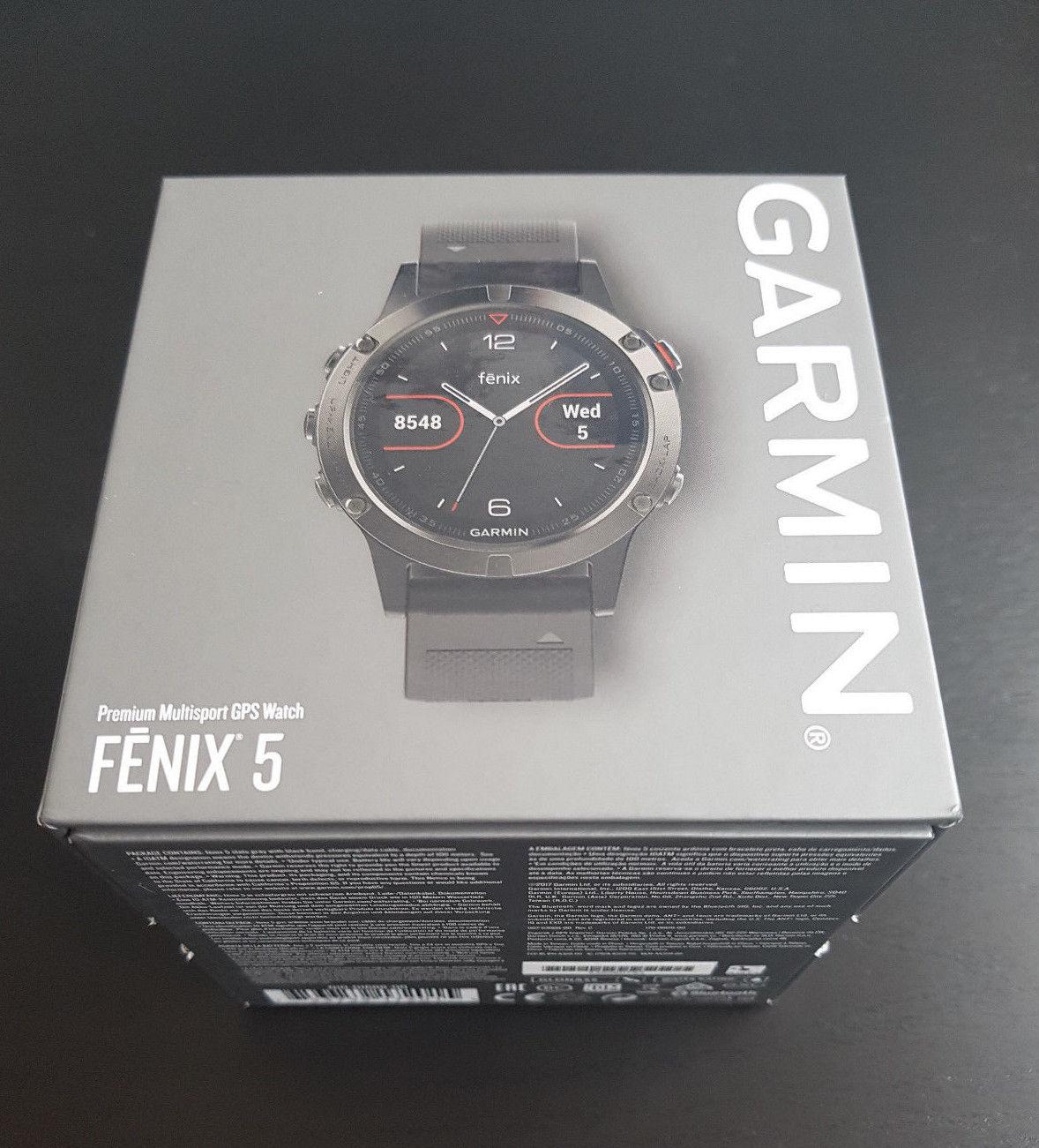 Garmin Fenix 5 - GPS Uhr / Smartwatch / Sport - neu, unbenutzt - OVP - Garantie