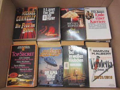 64 Bücher Romane Krimi Thriller Detektivromane Spionageromane