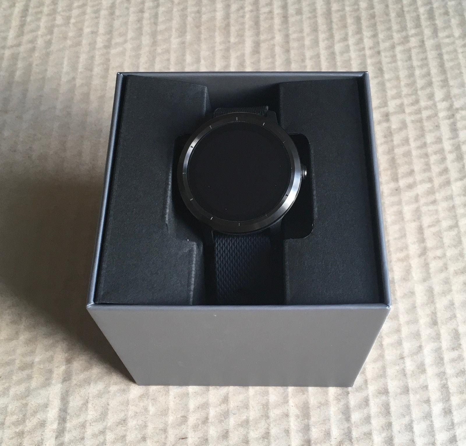 Garmin Vivoactive 3 Anthrazit/Schwarz GPS-Watch Gebraucht