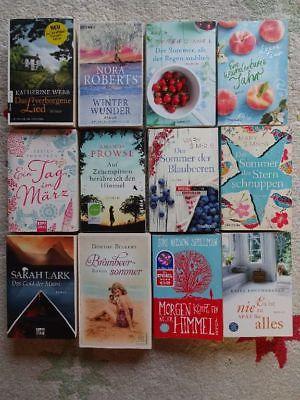 Bücher Paket 12 Romane für Frauen Liebe Romantik: Spielman Simses Webb Lark Dave