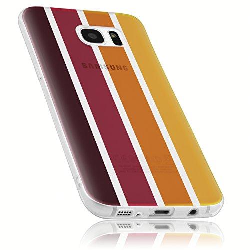 mumbi Schutzhülle für Samsung Galaxy S7 Hülle Herbst Edition