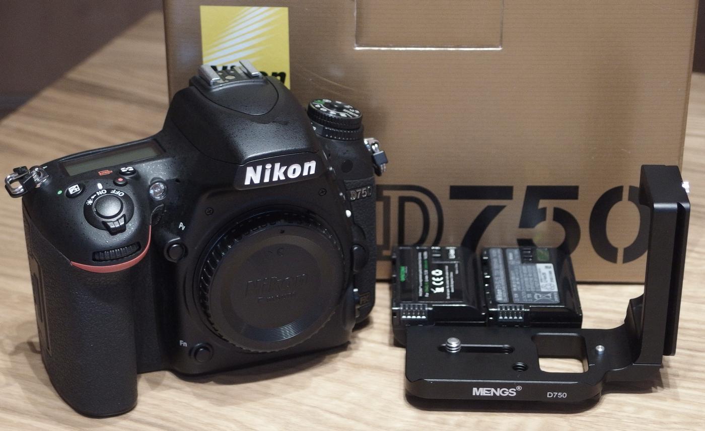 Nikon D750 (Gehäuse), nur 2.609 Auslösungen, Topzustand!