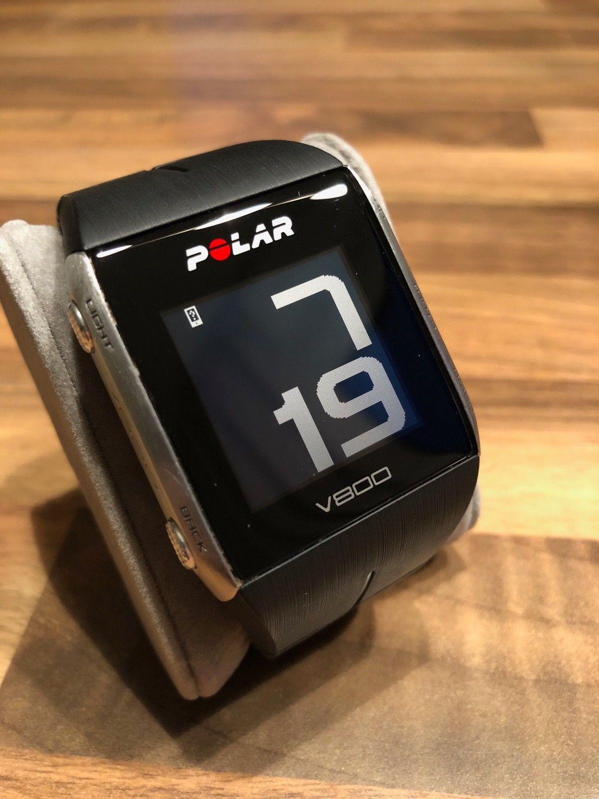 Polar V800, inc. H7, GPS Uhr, Pulsuhr, Aktivitätentracker, Top Zustand