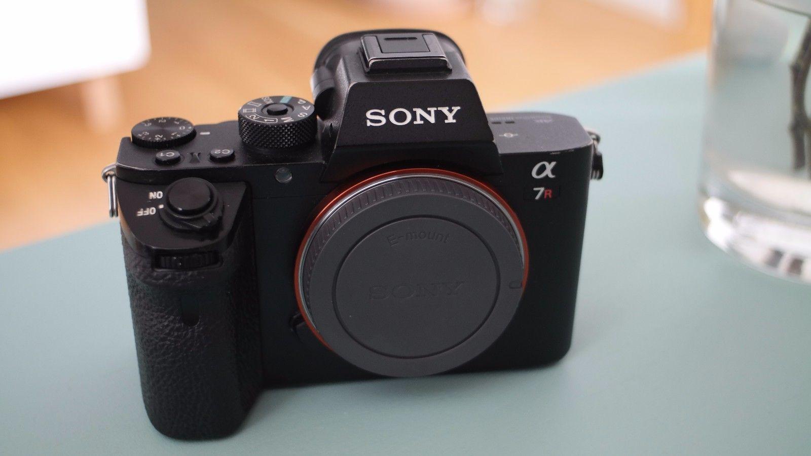 Sony Alpha a7RII Body a7R II ILCE-7RM2,techn. 100% ok, Lackabschürfungen Gehäuse