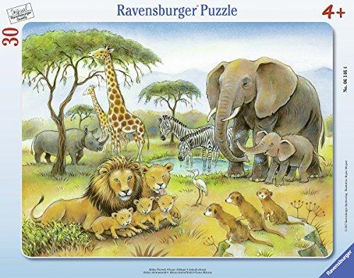 Ravensburger Puzzle 06146 Afrikas Tierwelt
