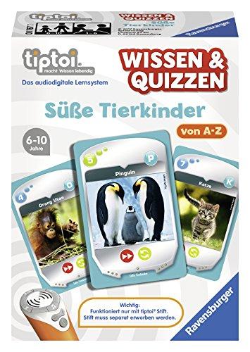 Ravensburger 00767 - tiptoi Wissen & Quizzen: Süße Tierkinder
