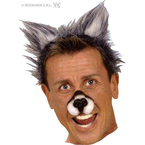 Widmann–AC5138–Haarreif mit Wolfs-Ohren aus Kunststoff