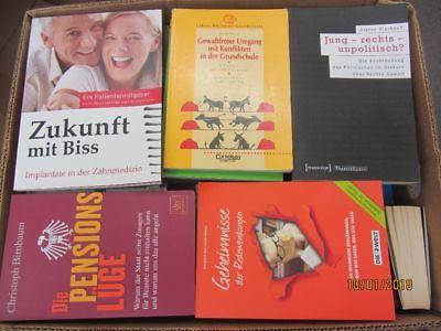 67 Bücher Sachbücher Softcover Wissenschaft Wirtschaft Politik Zeitgeschichte