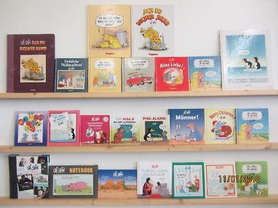 Uli Stein 24 Bücher Cartoons