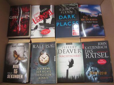 50 Bücher Romane Krimi Thriller Psychothriller  Top Titel Bestseller