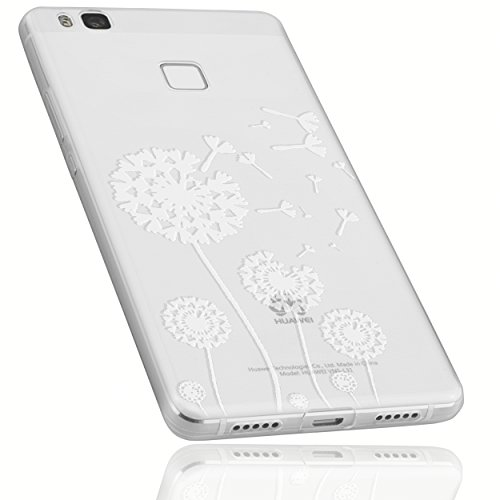 mumbi Schutzhülle Huawei P9 Lite Hülle im Pusteblume Design