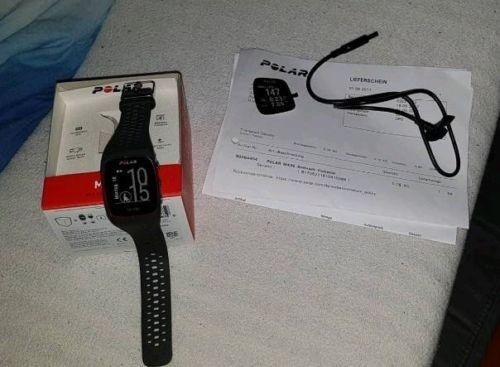 Polar M430, grau, GPS Sportuhr Pulsm. Handgelenk, Garantie/Rechnung WIE NEU