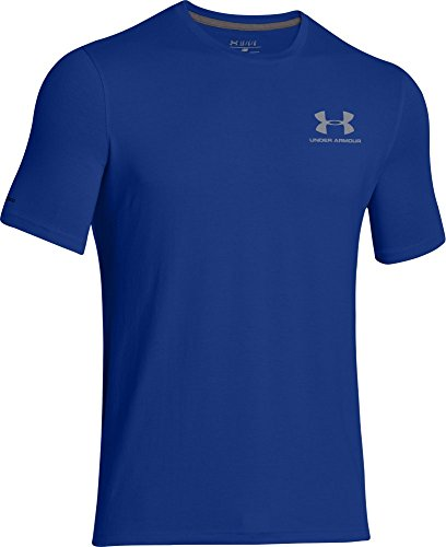 Under Armour Herren Fitness Cc Left Chest Lockup Kurzarm T-Shirt, Blau (Royal /  / Steel), XXL