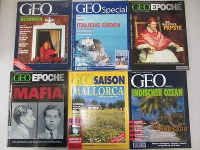 48 Hefte Zeitschriften Geo special Geo Epoche Geo Saison