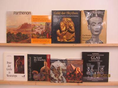 24 Bücher Bildbände Kunst Kultur Geschichte Weltgeschichte