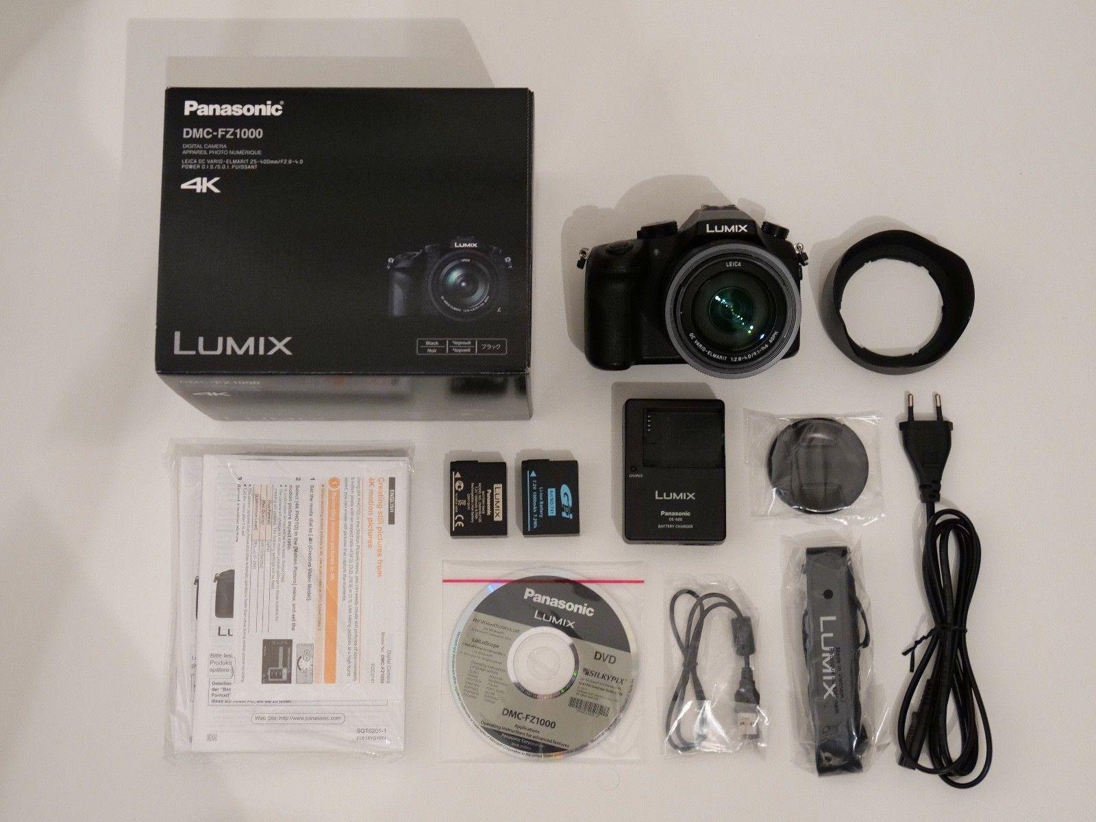 Panasonic LUMIX DMC-FZ1000, 20.1 MP, Top-Zustand, noch 21 Monate Garantie!