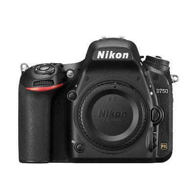 Nikon D750 24.3MP FX DSLR Camera Body Multi Language Stock in EU Garant