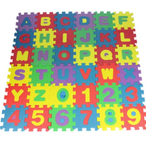 Buchstaben Alphabet Numerische Kindermatte Puzzlematte Spielzeug Früh Bildungs