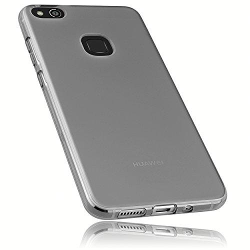 mumbi Schutzhülle für Huawei P10 Lite Hülle transparent schwarz