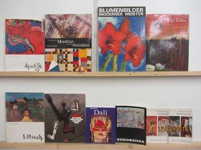 37 Bücher Bildbände Maler Malerei Künstler Gemälde Mondrian Matisse Munch  u.a.