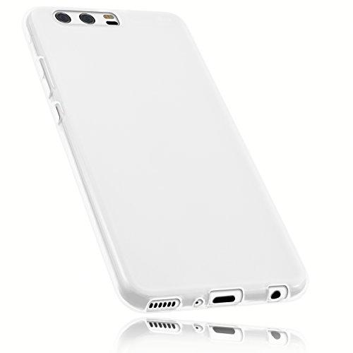 mumbi Schutzhülle für Huawei P10 Plus Hülle transparent weiss