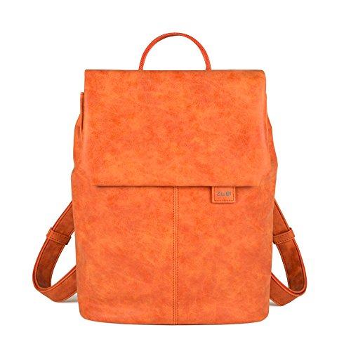 ZWEI MADEMOISELLE Damen Rucksack Damenrucksack orange Orange 35x28x5 cm