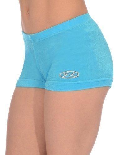Mädchen The Zone Gymnastik Shorts/Shorts alle farben/Alle Größen - Kingfisher, 26 (110-116)