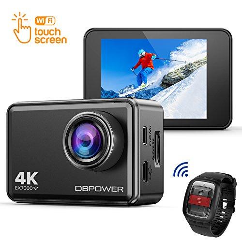 DBPOWER EX7000 Action Kamera 4K Sports Cam Panasonic Sensor 14MP 2